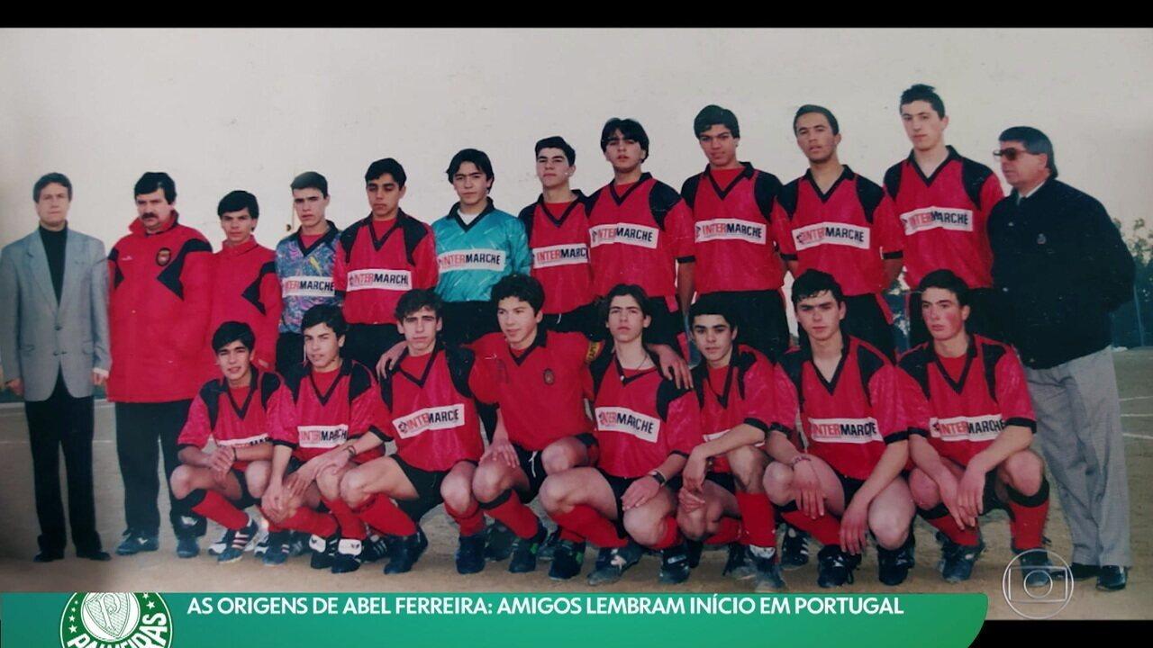 As origens de Abel Ferreira: amigos lembram início em Portugal