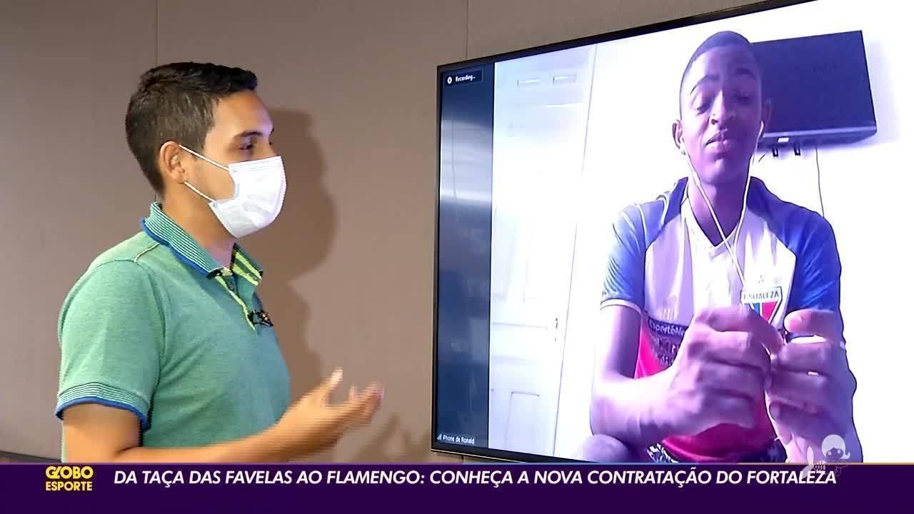 Da taça das favelas ao Flamengo: conheça a nova contratação do Fortaleza