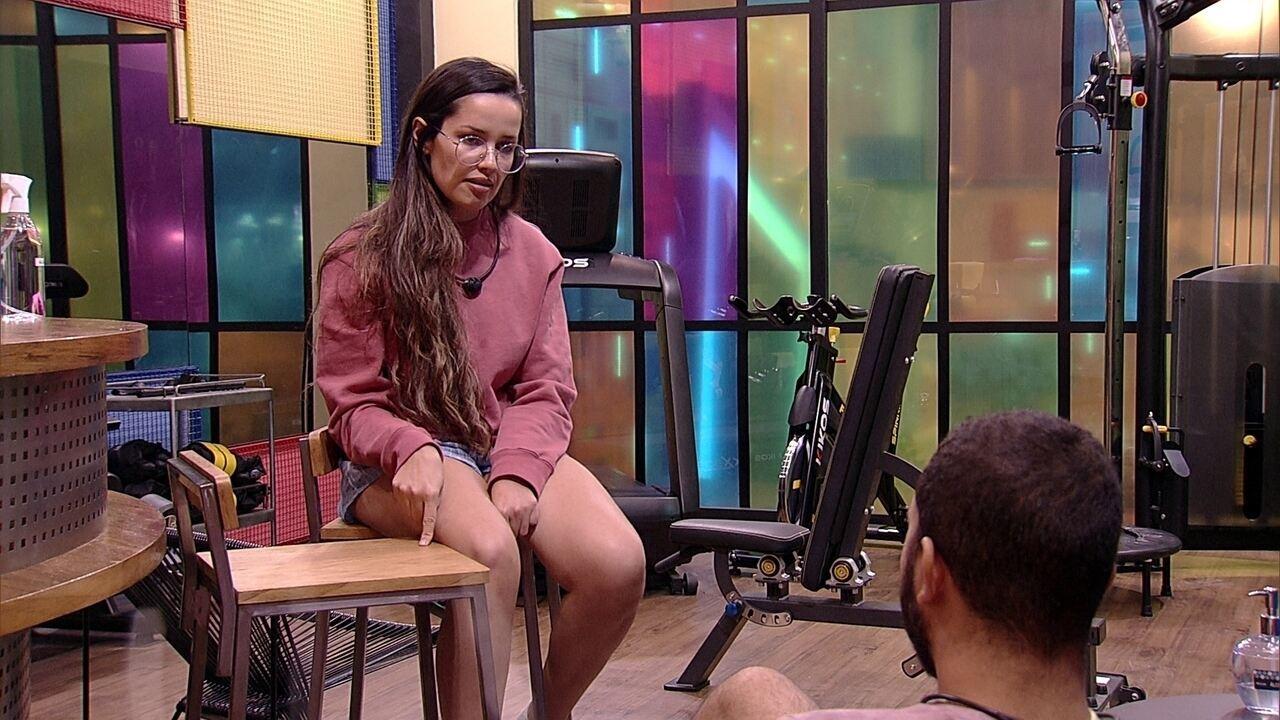 Juliette aponta para Gilberto no BBB21: 'Vi que você estava sendo manipulado'