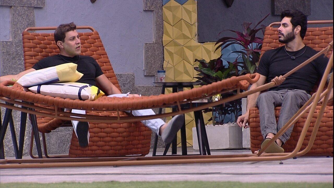 Rodolffo revela quem daria o Castigo do Monstro: 'Lucas e Gilberto'