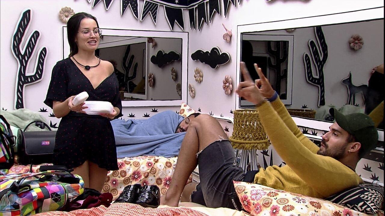 Juliette com Arcrebiano antes de noite de Eliminação: 'Não vale nada'