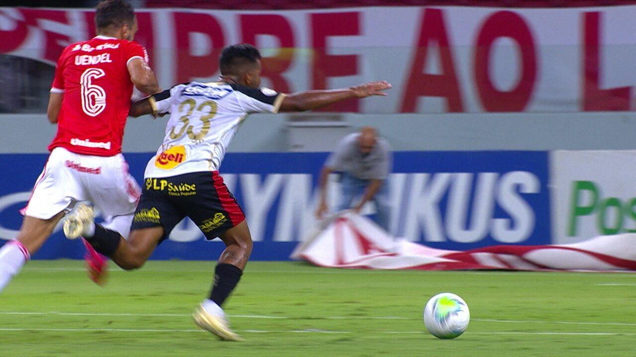 Melhores momentos: Internacional 1 x 2 Sport pela 35ª rodada do Brasileirão 2020