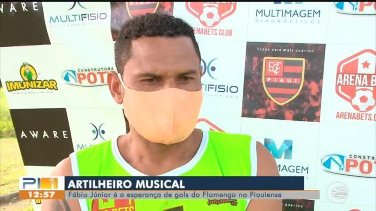 Fábio Júnior é a esperança de gols do Flamengo no Campeonato Piauiense