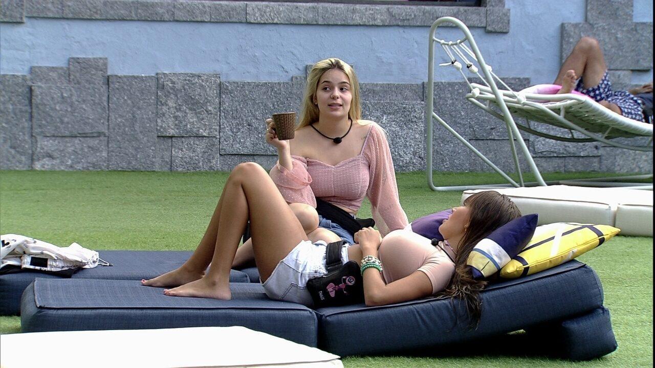 Viih Tube pensa na possibilidade de Nego Di ser eliminado do BBB21: 'Vai ser um luto para mim'