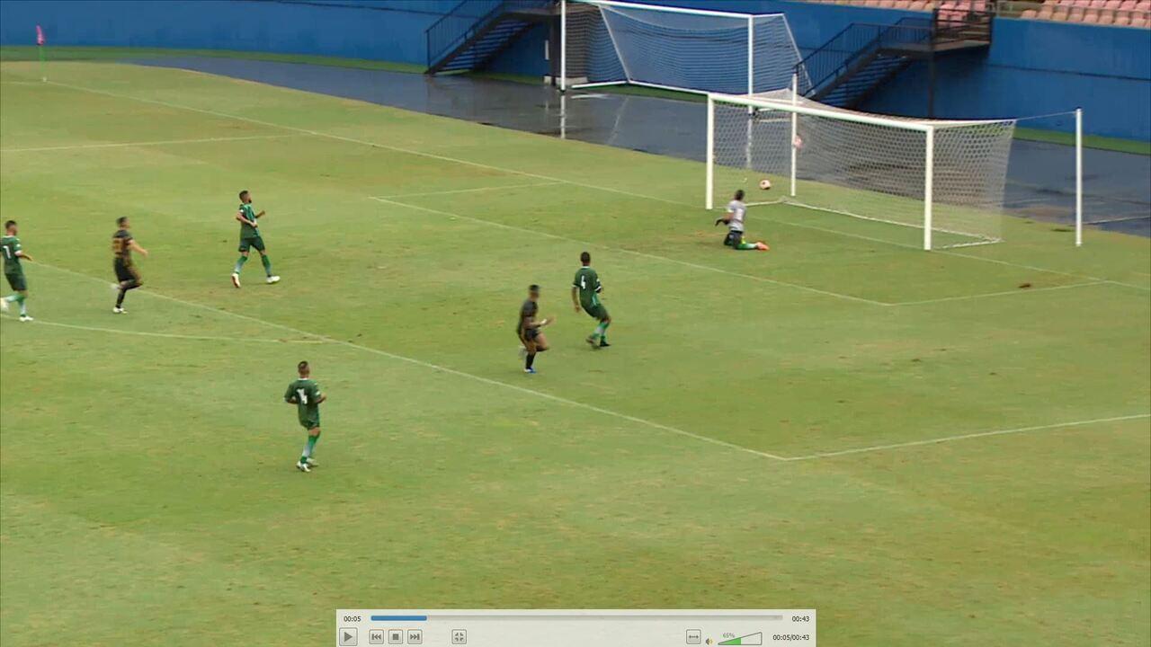 Veja os gols de Fast 3 x 0 Iranduba, pelo Amazonense