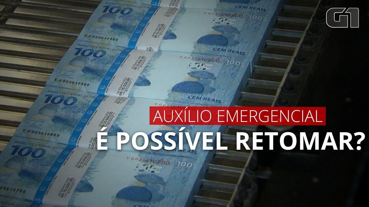 VÍDEO: Especialistas afirmam ser viável retomar o auxílio emergencial