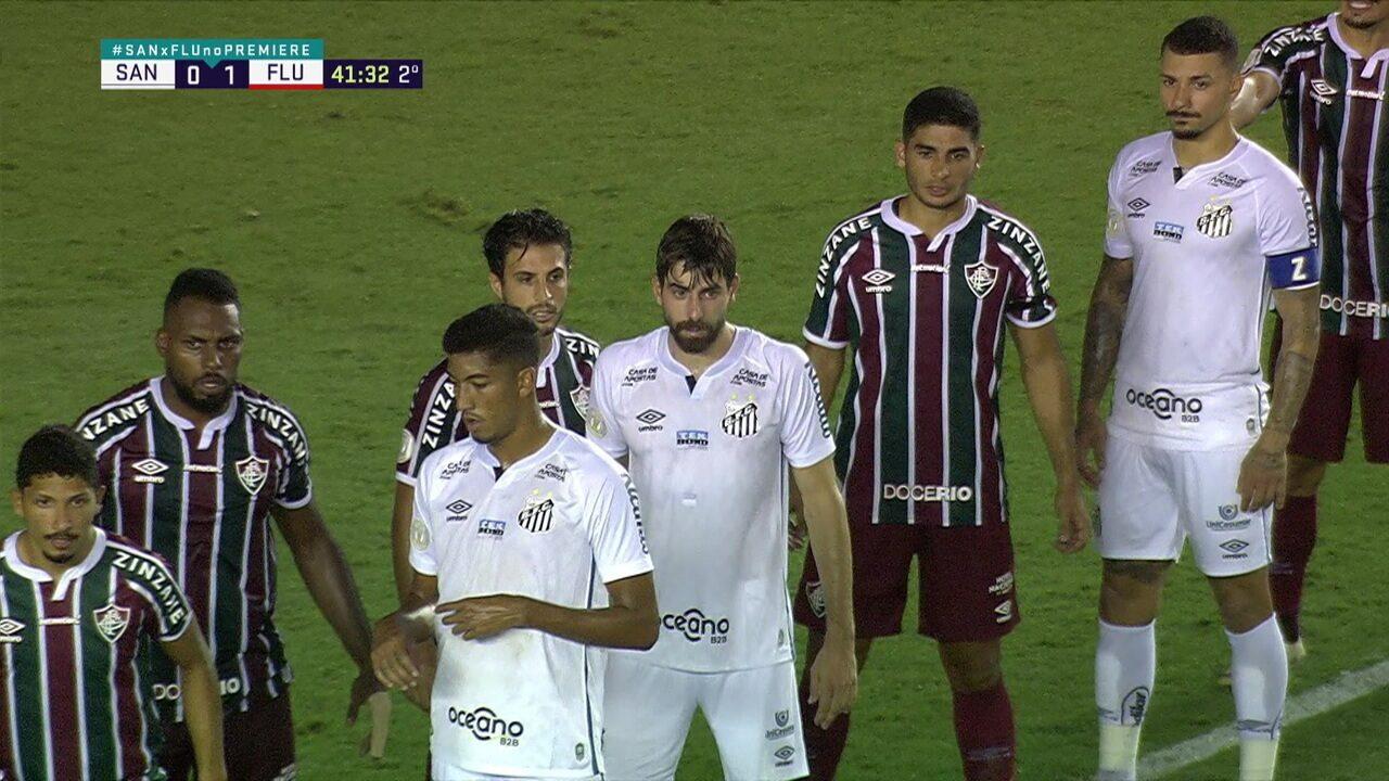 Melhores momentos: Santos 1 x 1 Fluminense, pela 37ª rodada do Brasileirão