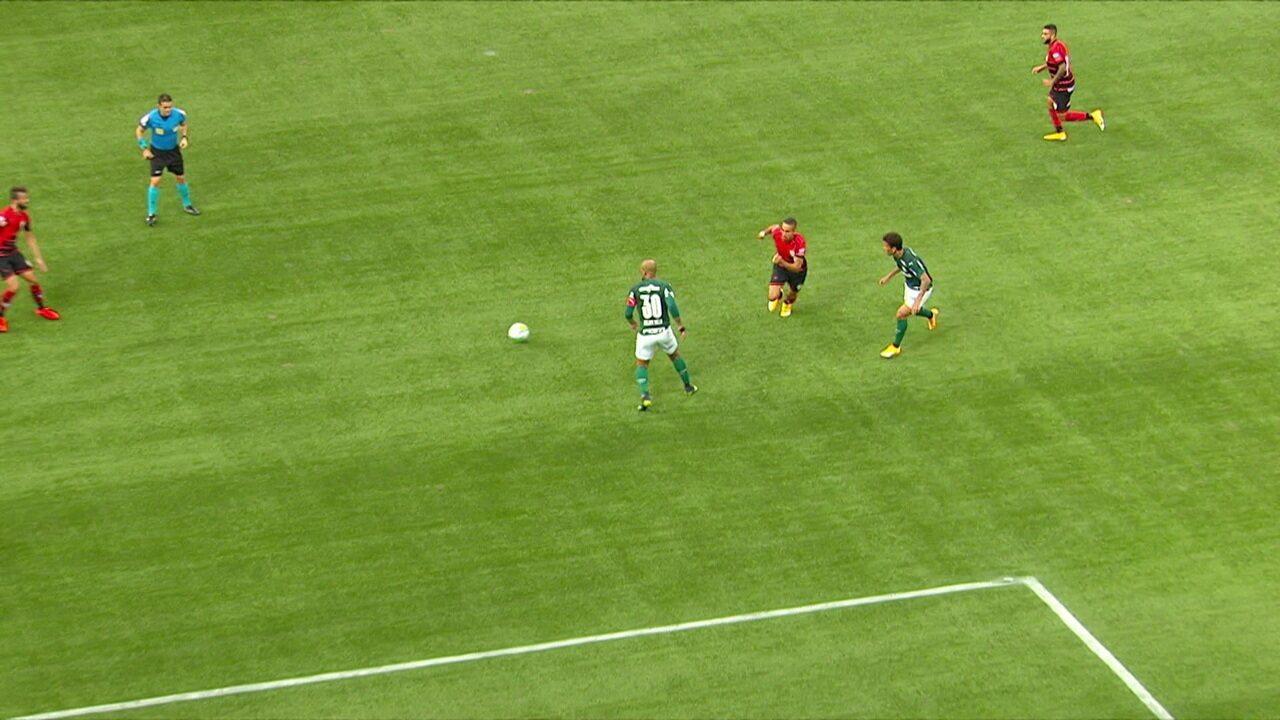 Melhores momentos: Palmeiras 1 x 1 Atlético-GO pela 37ª rodada do Brasileirão 2020