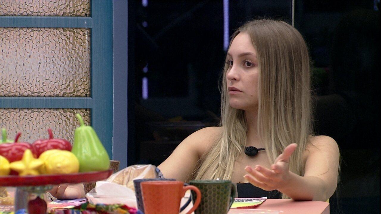 Carla Diaz reclama de brother no BBB21: 'Não brinco mais'