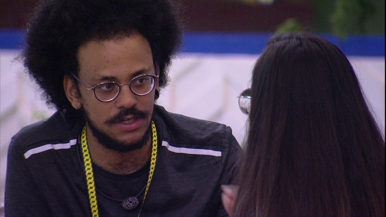 João Luiz fala sobre escolha do Vip: 'Foi uma forma de retribuir'