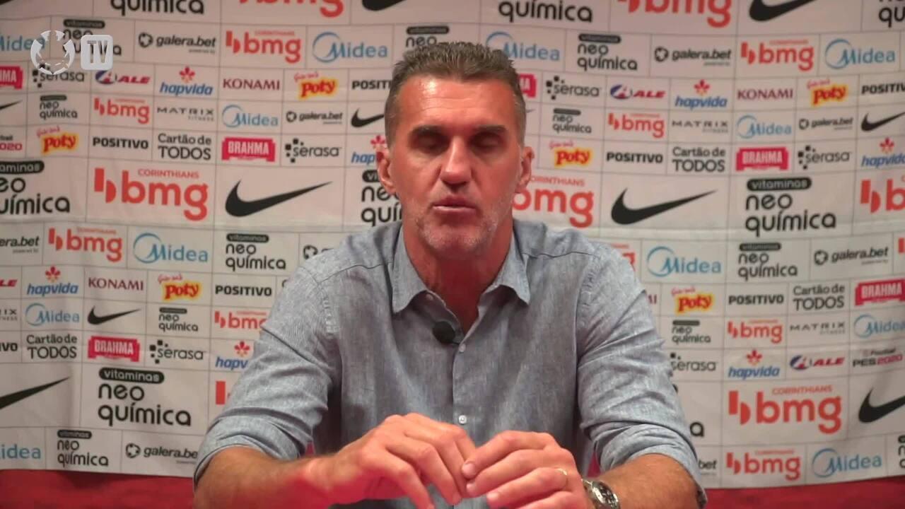 Confira a coletiva de Vagner Mancini após empate do Corinthians com o Internacional