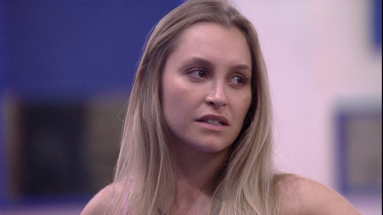 Carla Diaz pede desculpas para Lumena após Big Fone do BBB21 e a baiana diz: 'Lenga lenga'