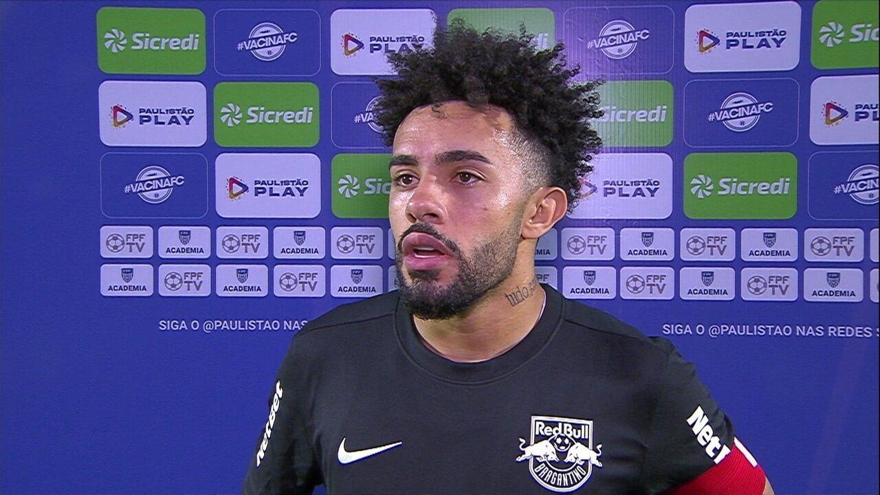 """Claudinho elogia a equipe: """"A equipe está de parabéns, criou as melhores chances do jogo."""""""
