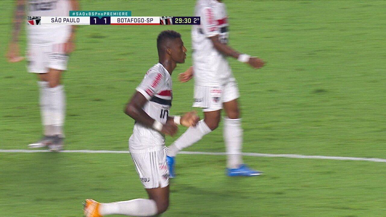 Melhores Momentos: São Paulo 1 x 1 Botafogo-SP, pela 1ª rodada do Campeonato Paulista