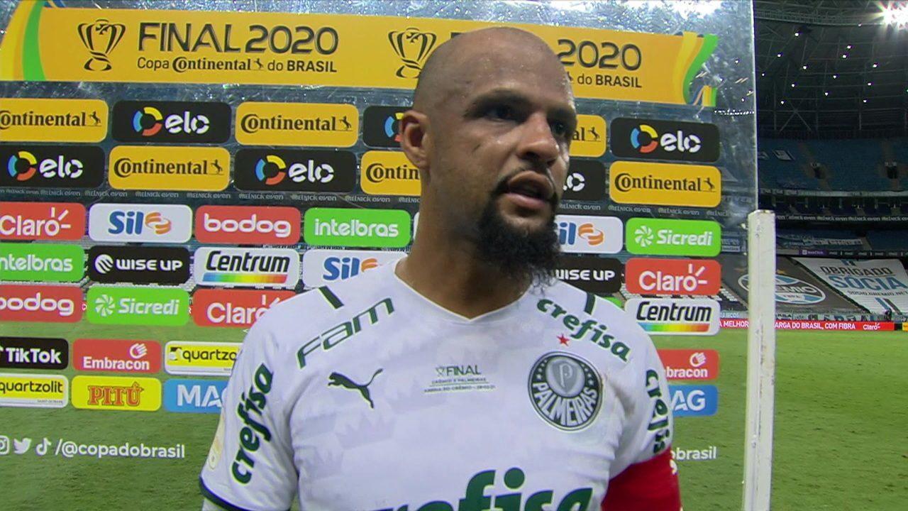 Felipe Melo lembra eliminação para o Grêmio em 2019