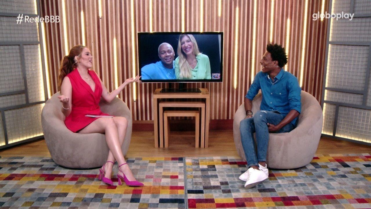 Bate-Papo BBB: Léo Santana e Lorena Improta falam sobre o casamento