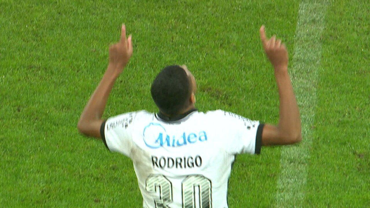 Os gols de Corinthians 2 x 2 Palmeiras, pela 2ª rodada do Paulistão