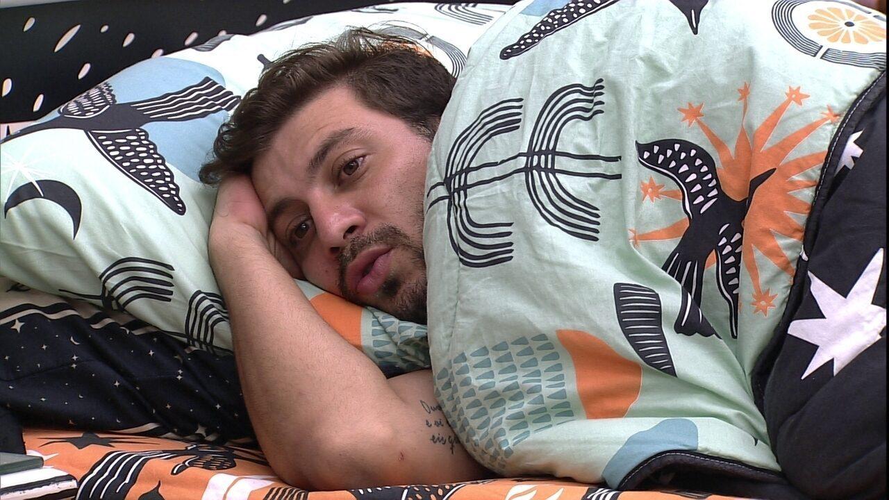 Caio critica atitude de Projota durante Castigo do Monstro no BBB21: 'Tentou vitimizar'