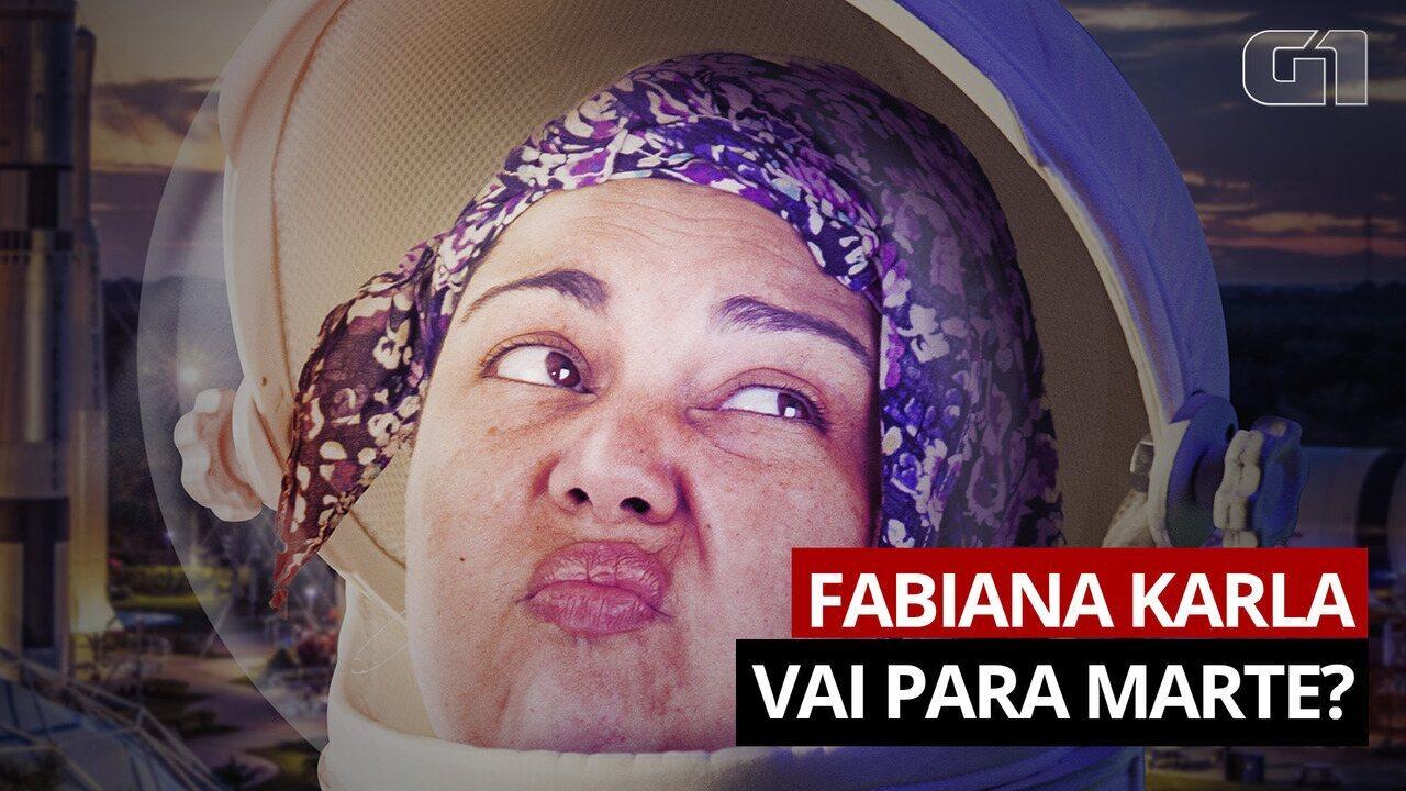 Fabiana Karla fala sobre a experiência de levar Lucicreide para Marte