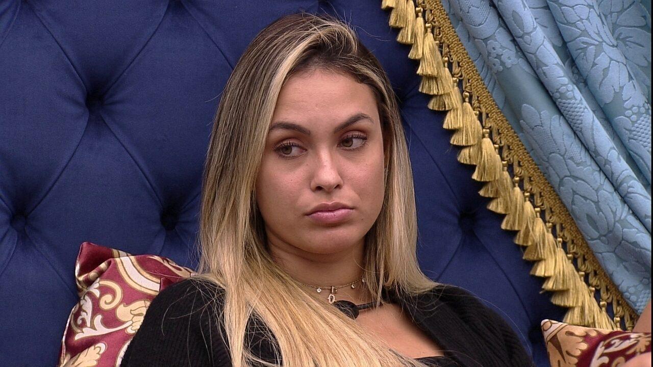 Sarah afirma sobre Juliette no BBB21: 'Não tenho medo de brigar com ela'