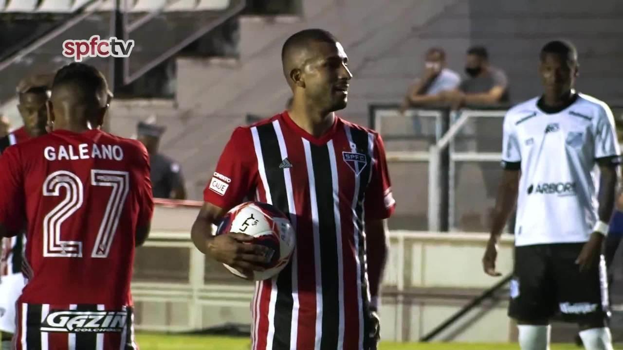 Confira os bastidores de Inter de Limeira 0 x 4 São Paulo pelo Campeonato Paulista