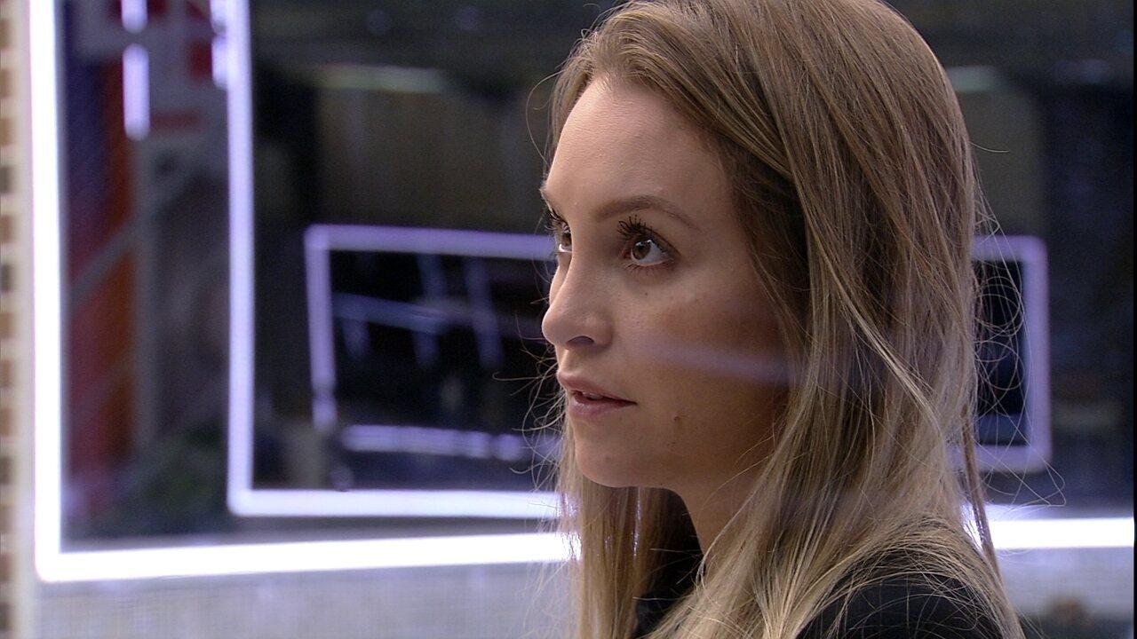 Carla Diaz comenta com sister sobre Arthur: 'Agora quer pular fora porque o negócio virou'