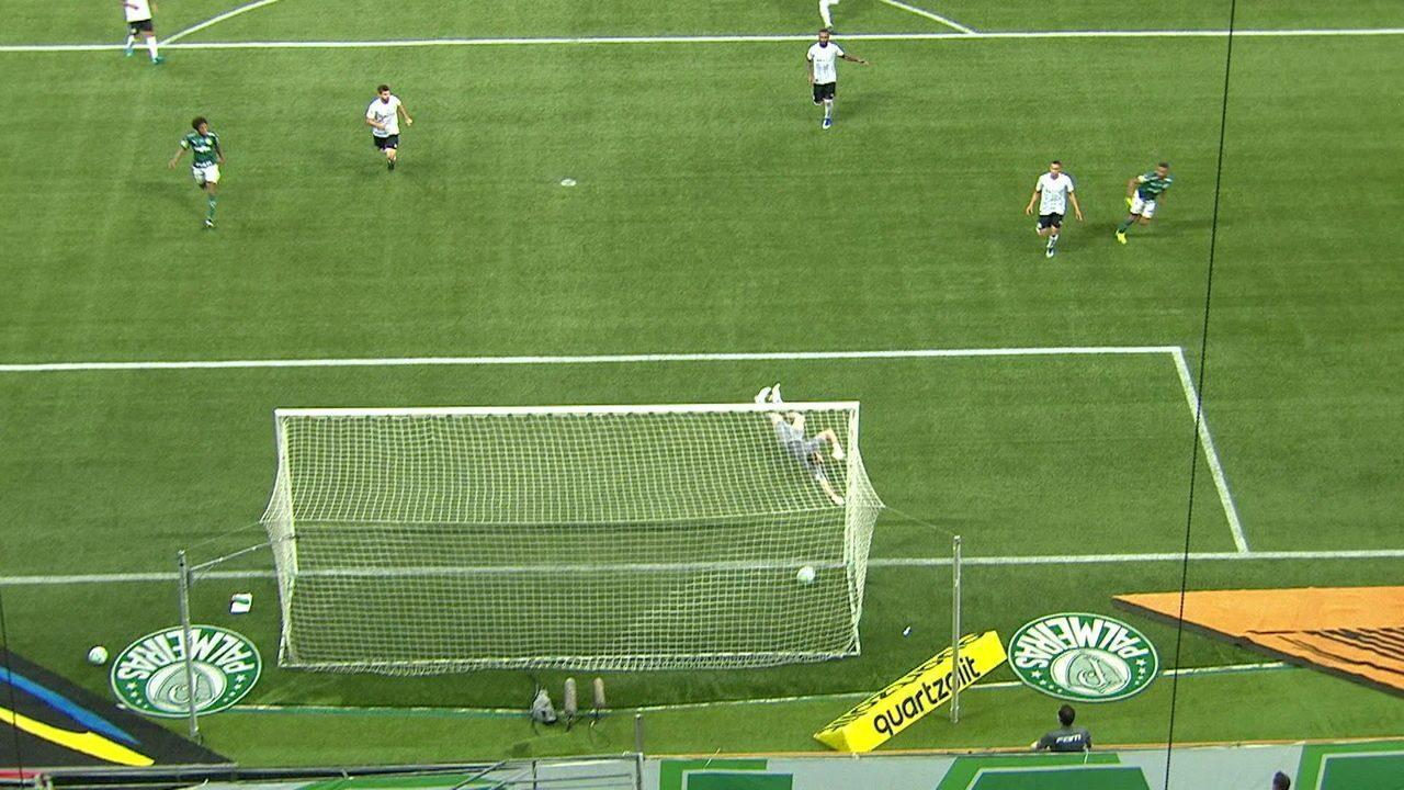 Relembre o gol de Wesley pelo Palmeiras na final da Copa do Brasil contra o Grêmio