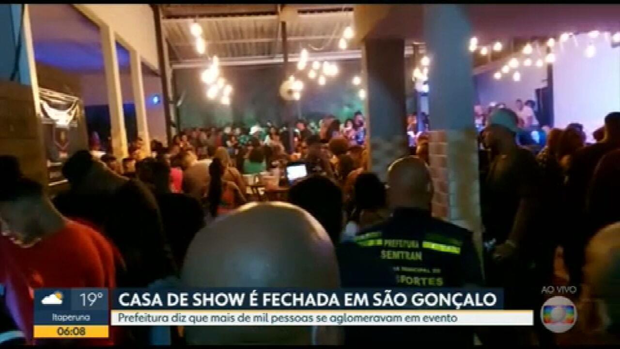 Festas clandestinas continuam acontecendo no RJ