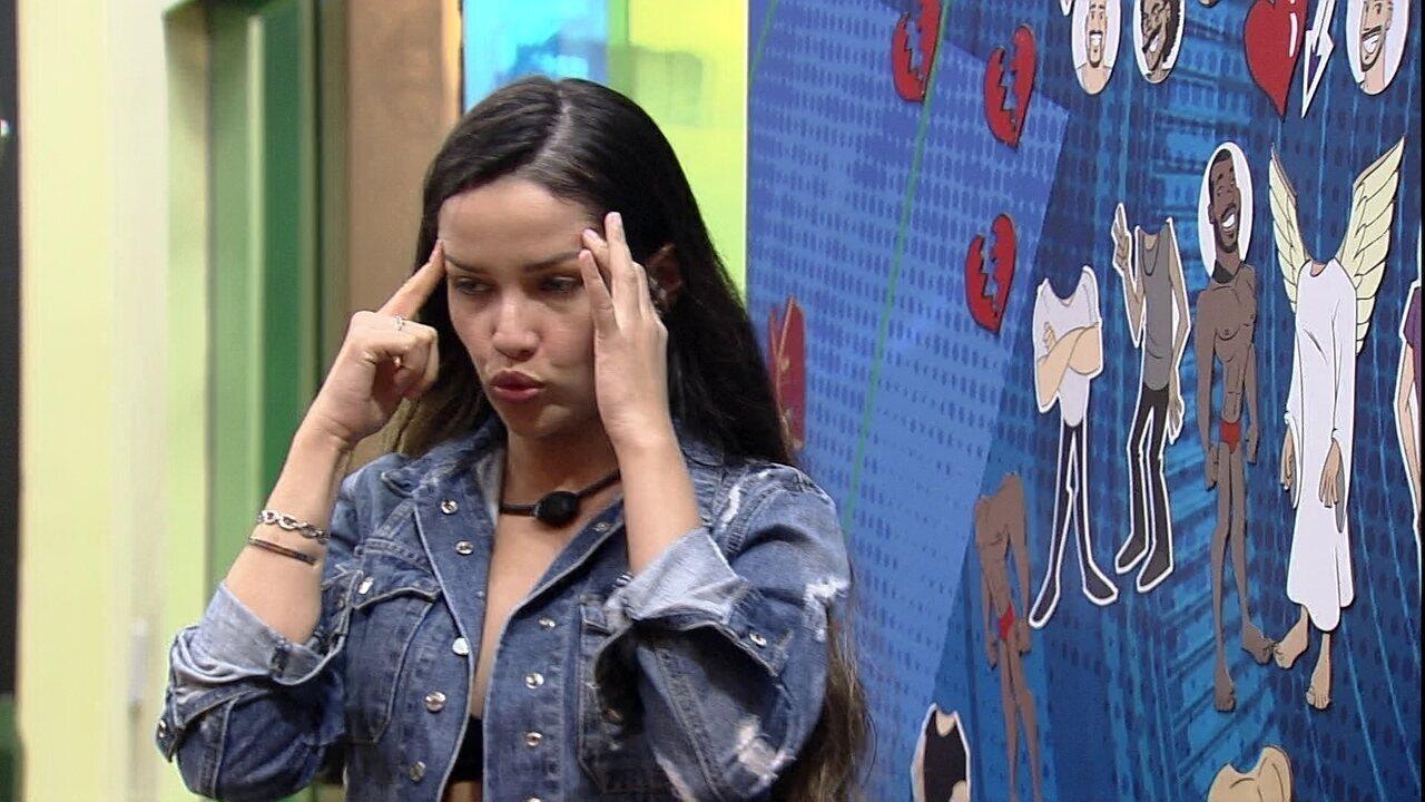 Juliette aponta sobre Arthur no BBB21: 'Se eu estiver certa, ele vai sair'