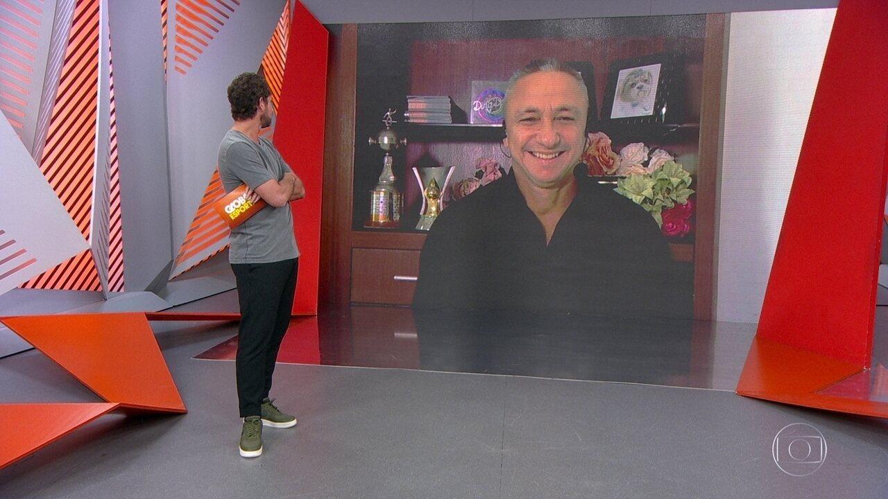 Paulo Nunes comenta sobre Jô e Otero em resort em meio a surto de Covid