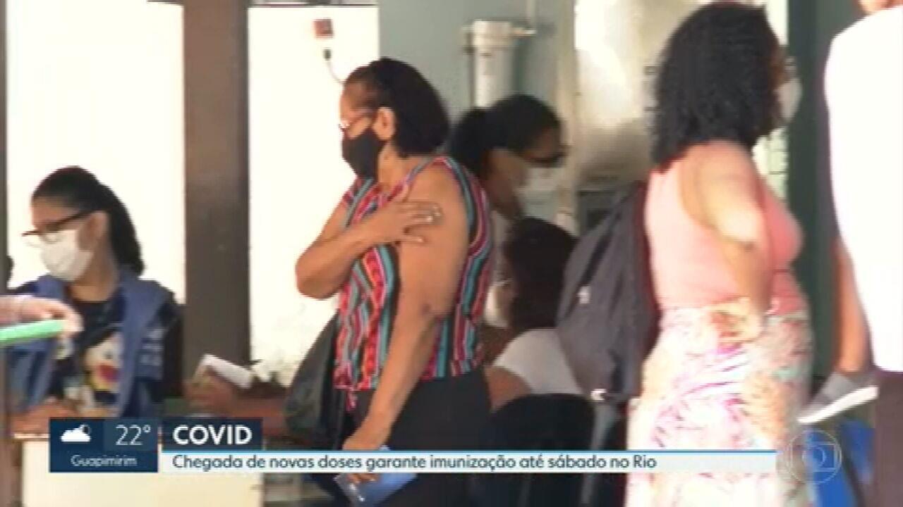 Prefeitura do Rio anuncia a chegada de novas doses da vacina contra o coronavírus