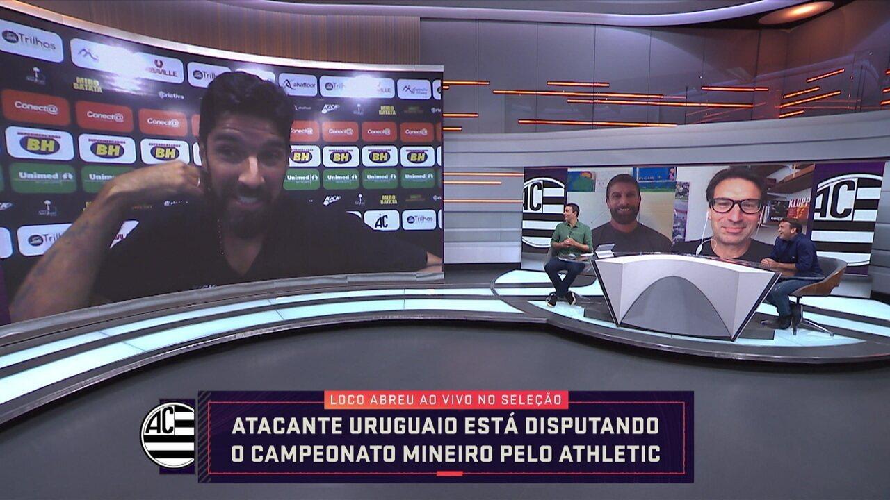 Loco Abreu fala de motivação e projeta trabalhar como treinador após aposentadoria