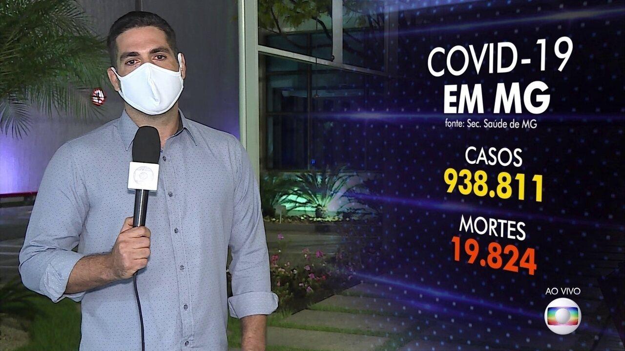 Minas bate novo recorde de casos em 24 horas
