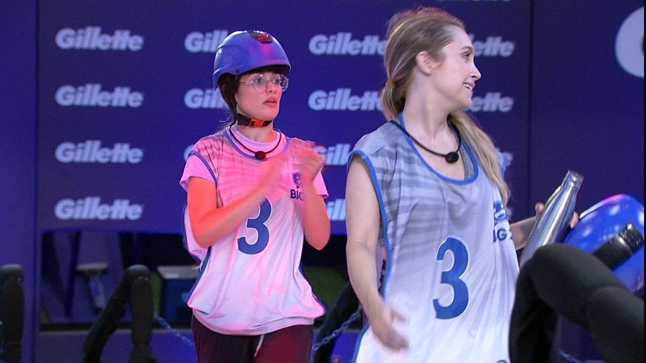 Carla Diaz e Juliette são segunda dupla a deixar a Prova do Líder no BBB21