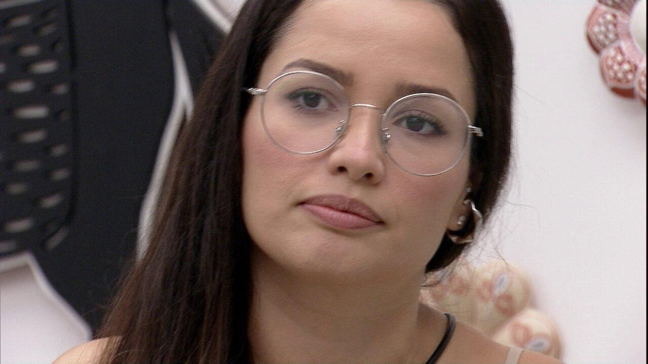 Juliette fala sobre a atitude de Sarah e Gilberto: 'Fiquei muito triste'