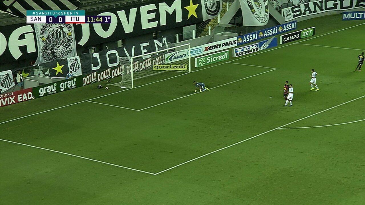 Melhores Momentos: Santos 2 x 1 Ituano, pela 4ª rodada do Campeonato Paulista