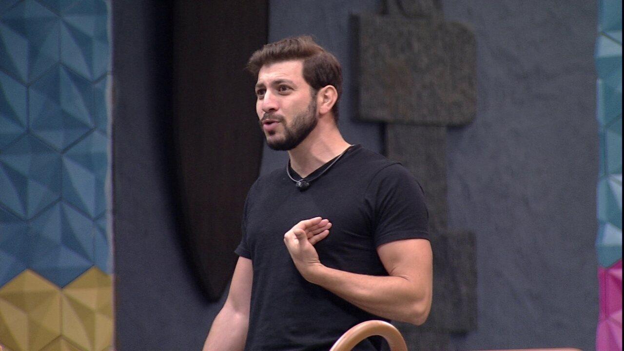 Caio desabafa após Jogo da Discórdia do BBB21: 'Meu papel não é de figurante'