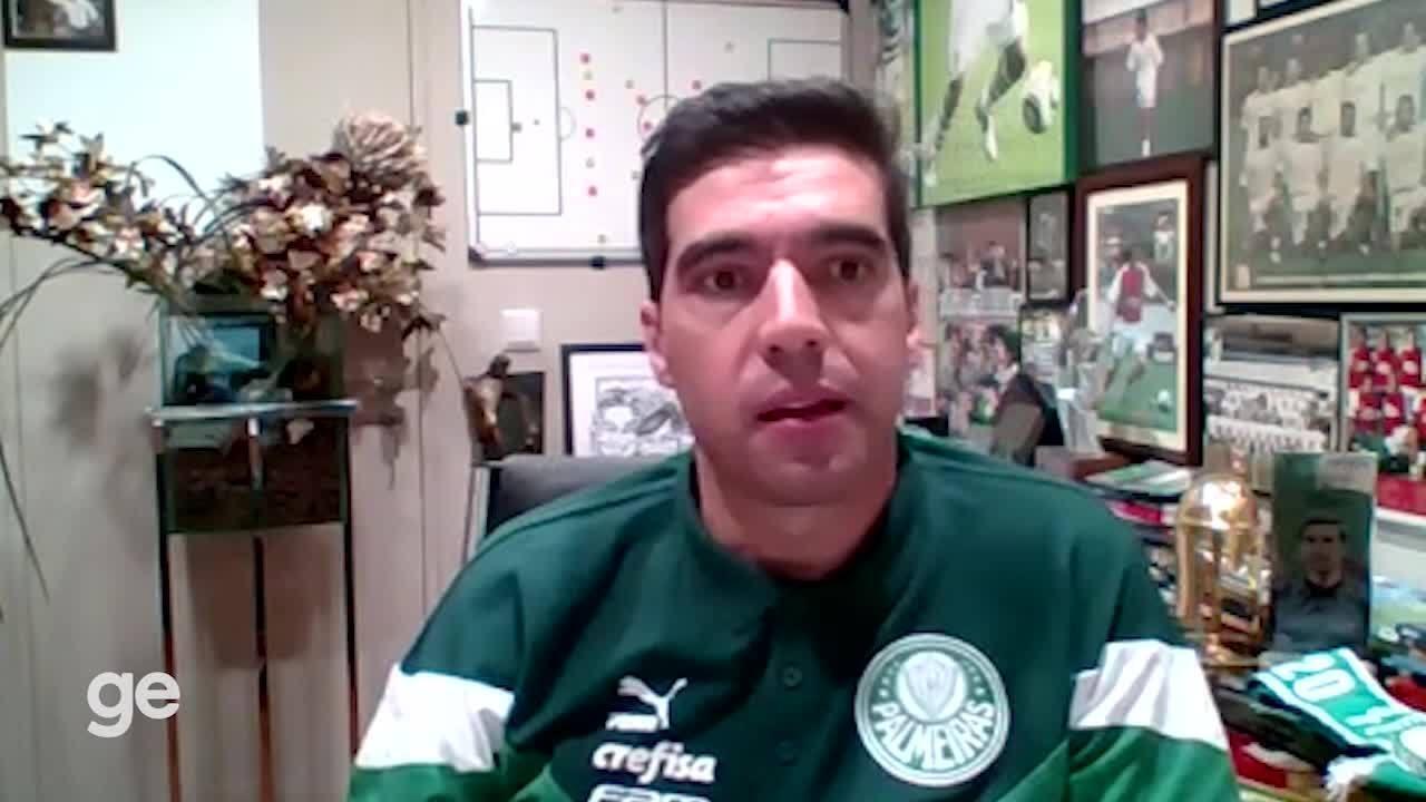 "Abel Ferreira analisa o jogo ""Football Manager"""