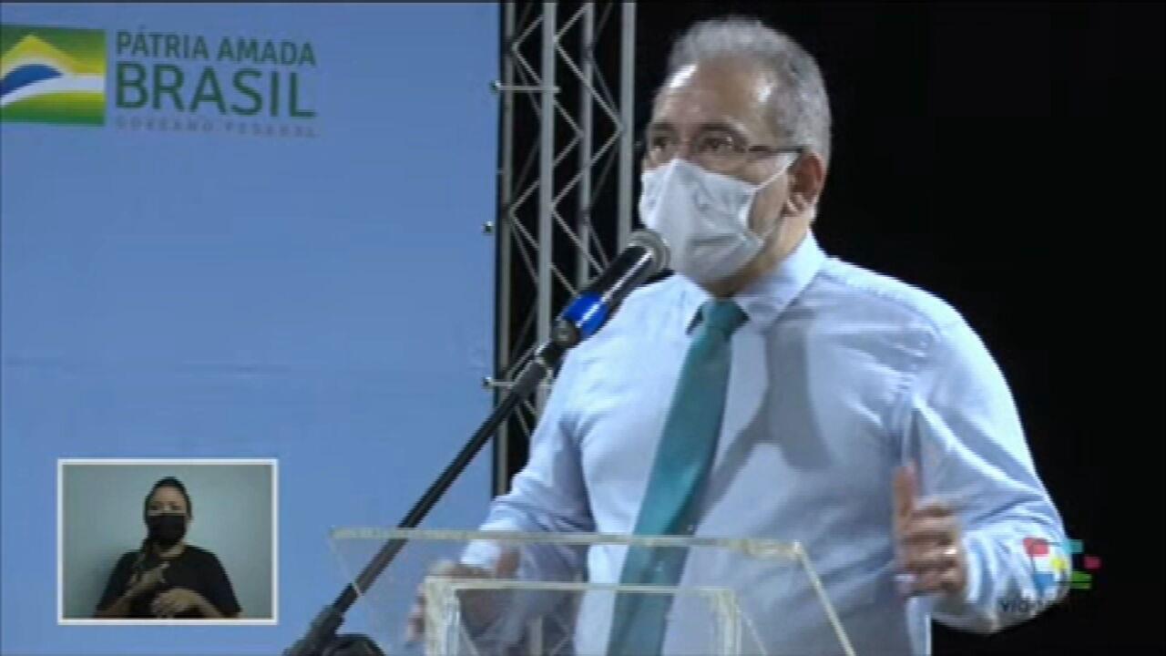 Marcelo Queiroga: 'É necessário uma união nacional para o enfrentamento da pandemia'