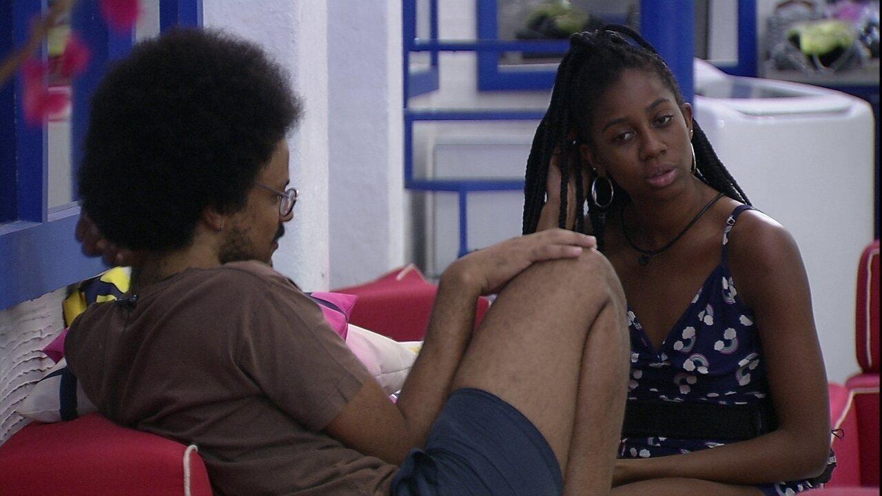 João Luiz especula sobre Prova do Líder: 'Será que eles vão emendar duas resistências?'