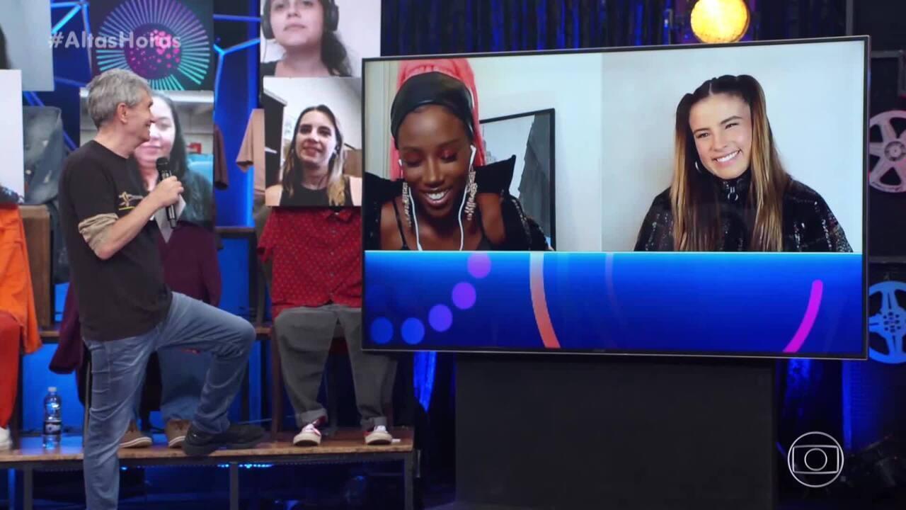 Simaria, Malía e Giulia Be falam sobre suas trajetórias profissionais