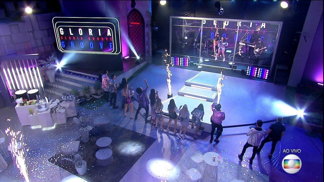Começa a Festa Samsung com show de Léo Santana e Gloria Groove no BBB21