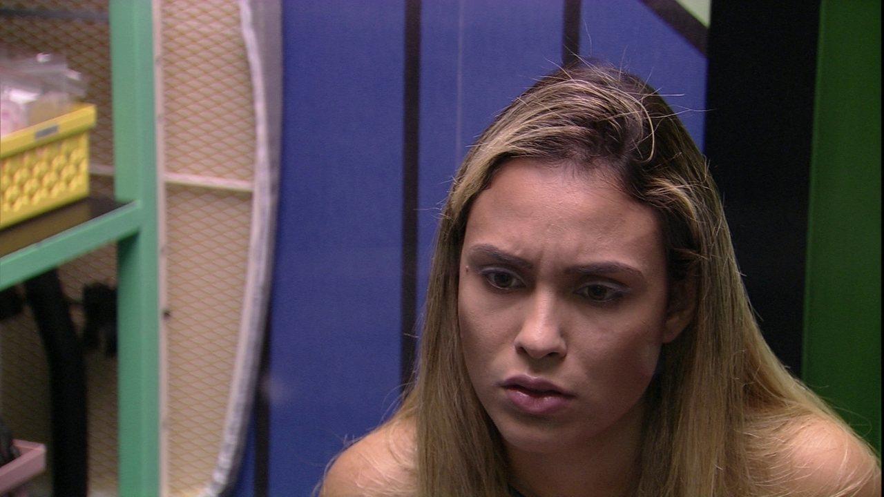Sarah dispara: 'Eu acho que a Juliette vai acabar indo para o Paredão semana que vem´