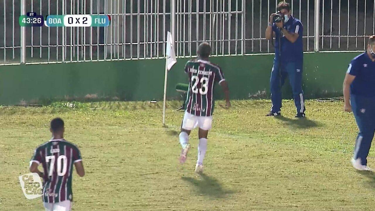 Veja os melhores momentos de Boavista x Fluminense e entenda a situação do gramado em Saquarema