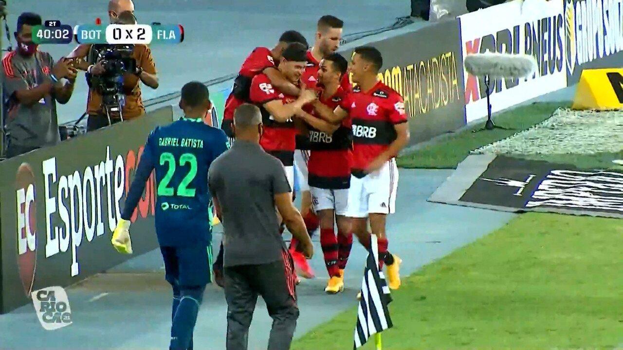 Veja gols de Rodrigo Muniz pelo Flamengo