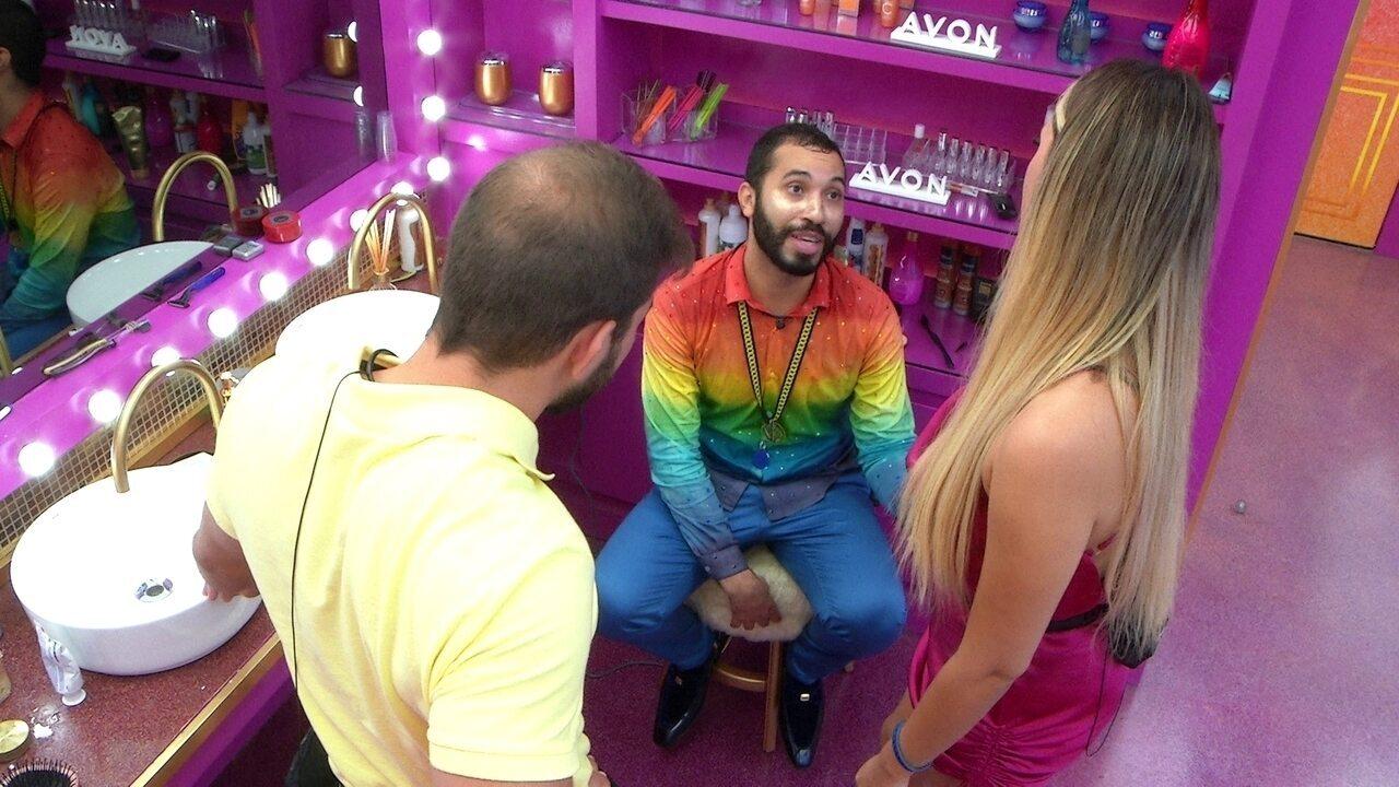 Gilberto diz que poderia vetar Juliette da Prova do Líder do BBB21: 'Meu coração dói'