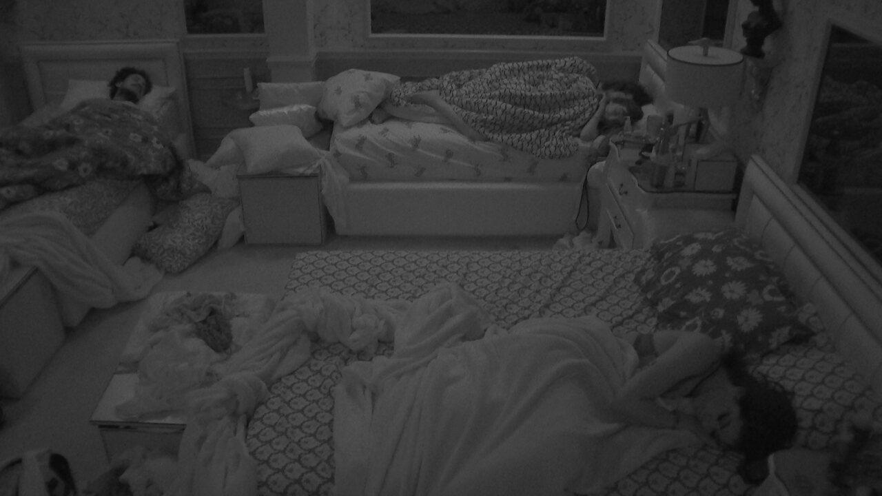 Brothers dormem após Festa da Above no BBB21
