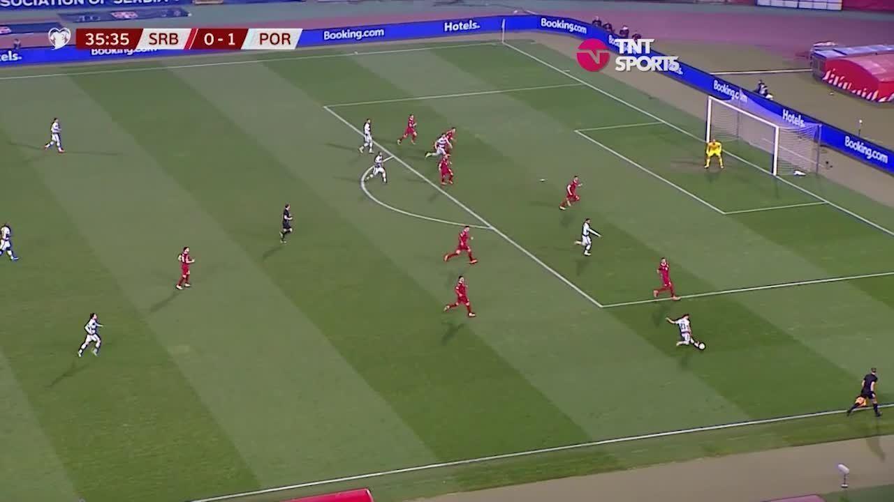 Melhores momentos: Sérvia 2 x 2 Portugal, pelas Eliminatórias da Copa de 2022