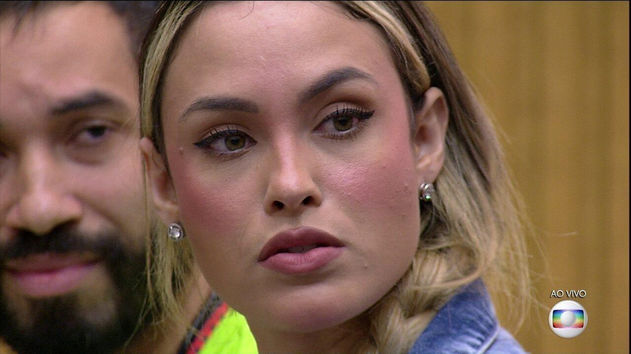 Sarah é a mais votada da casa e indica Thaís no Contragolpe para o nono Paredão do BBB21