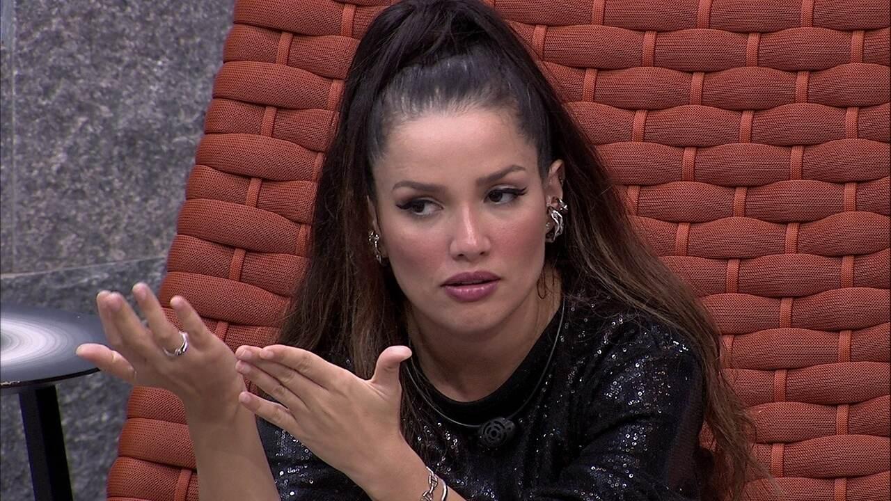 Juliette fala de sister eliminada no BBB21: 'Falou coisas para mim com olhar de raiva'